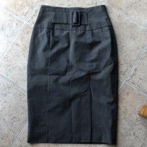NWOT grey worthington skirt